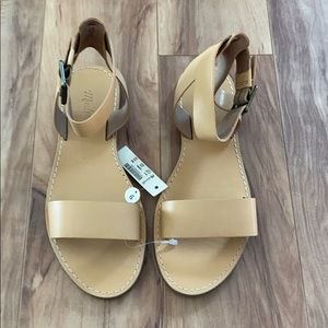 Madewell woman's Ankle-Strap Sandal